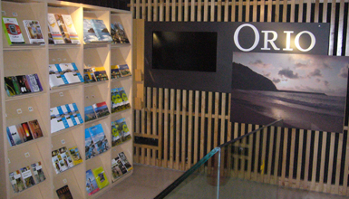 Oficina de turismo de orio oficinas de turismo turismo for Oficina de turismo donostia