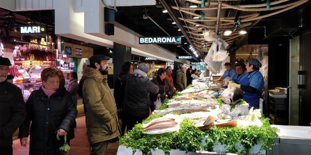 Mercado de Abastos de Vitoria-Gasteiz  Foto detalle 57837f9eb6cdb