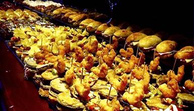 Cocina Vasca Pinchos   De Pintxos Por La Zona Centro De San Sebastian Zonas De Bares Y